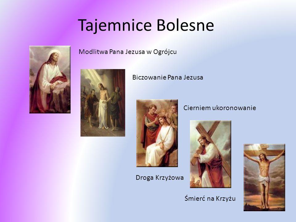 Tajemnice Bolesne Modlitwa Pana Jezusa w Ogrójcu
