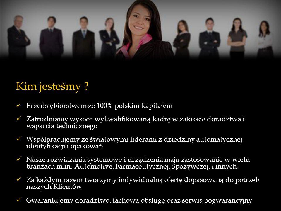 Kim jesteśmy Przedsiębiorstwem ze 100% polskim kapitałem