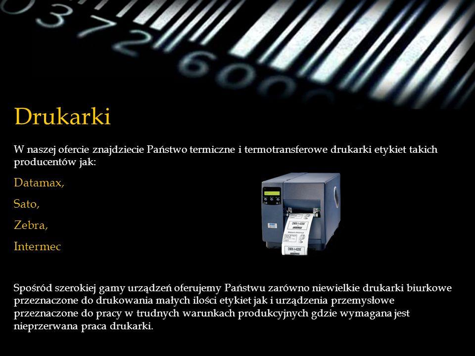 Drukarki Datamax, Sato, Zebra, Intermec