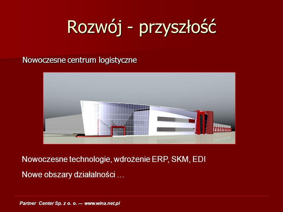 Rozwój - przyszłość Nowoczesne centrum logistyczne