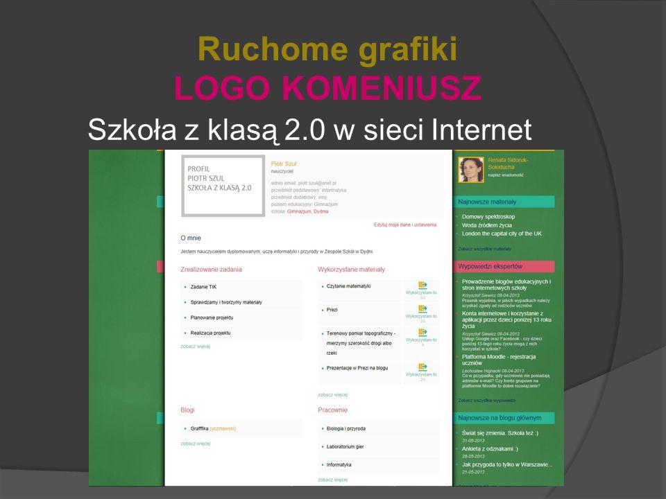 Szkoła z klasą 2.0 w sieci Internet