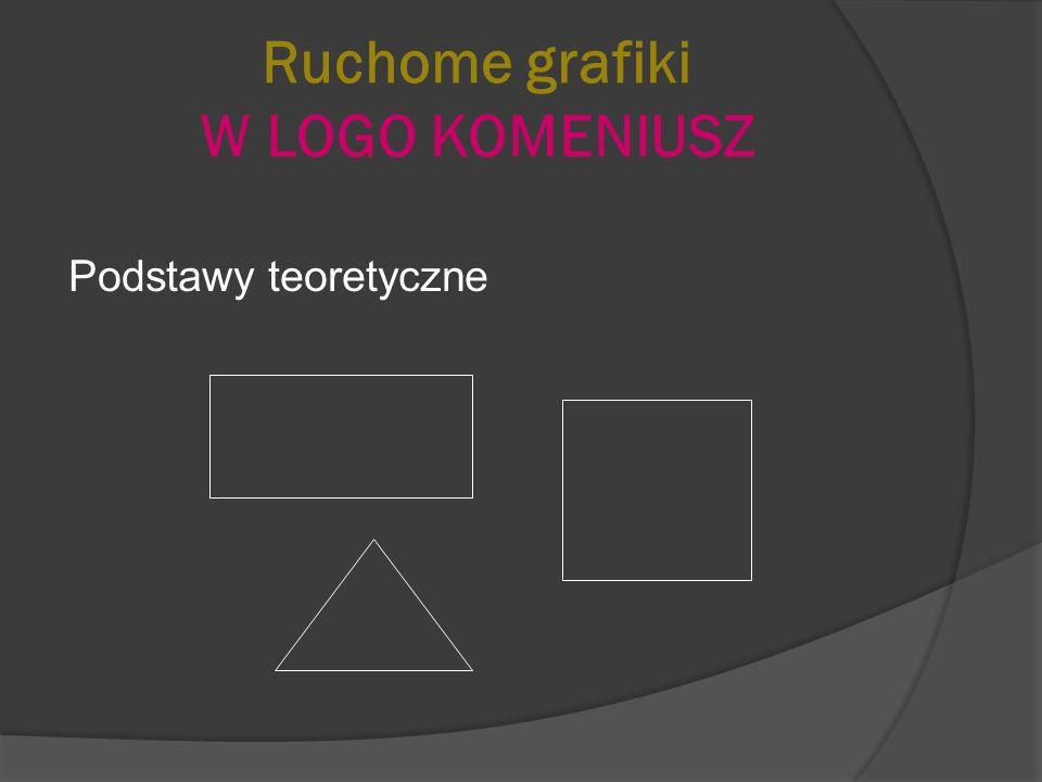 Ruchome grafiki W LOGO KOMENIUSZ