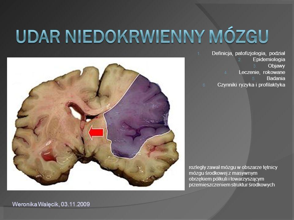Weronika Walęcik, 03.11.2009 Definicja, patofizjologia, podział