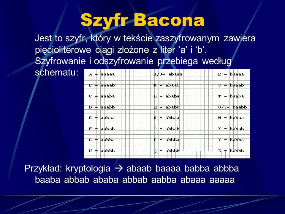 Szyfr Bacona