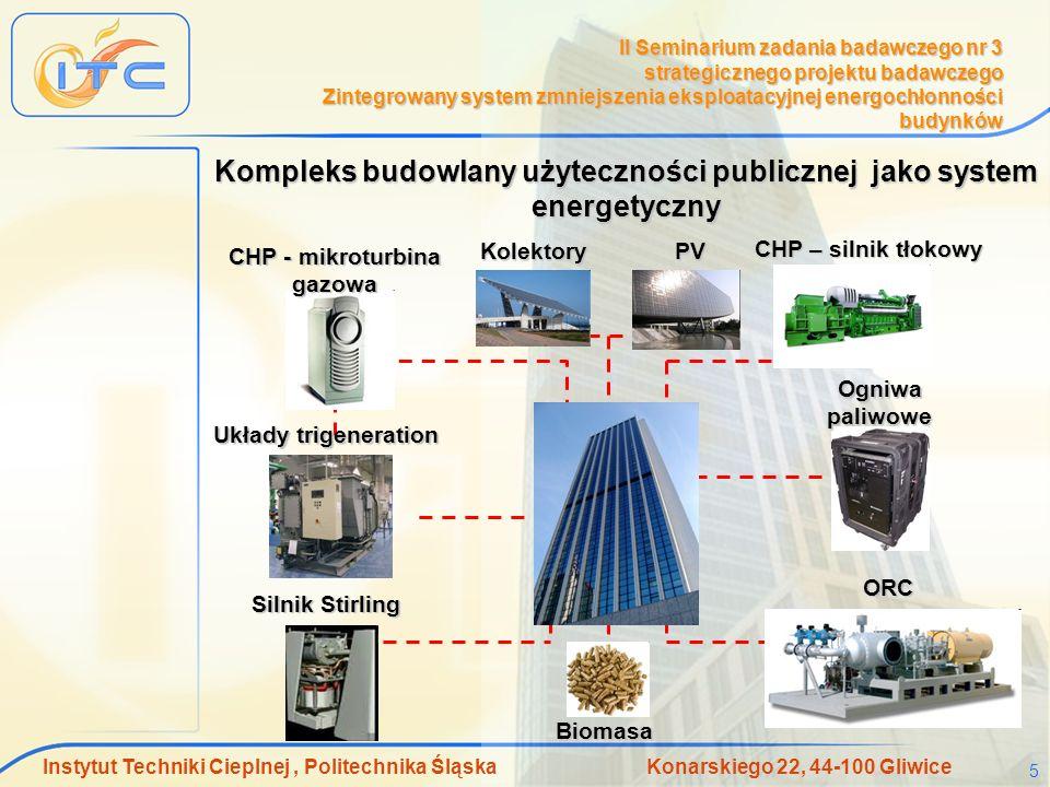 Kompleks budowlany użyteczności publicznej jako system energetyczny