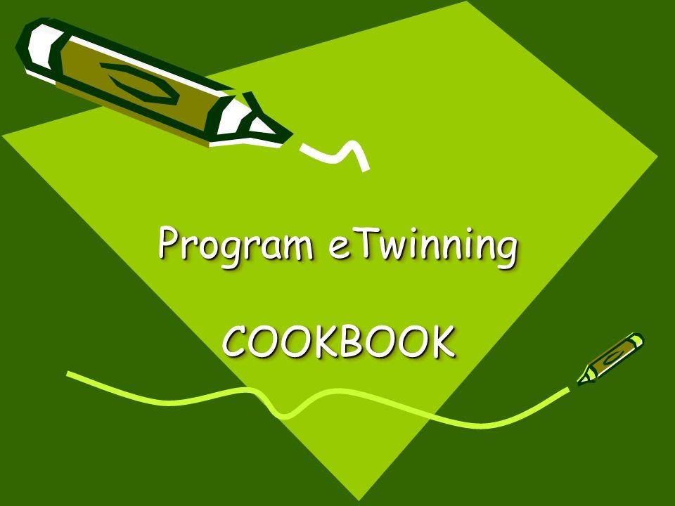 Program eTwinning COOKBOOK