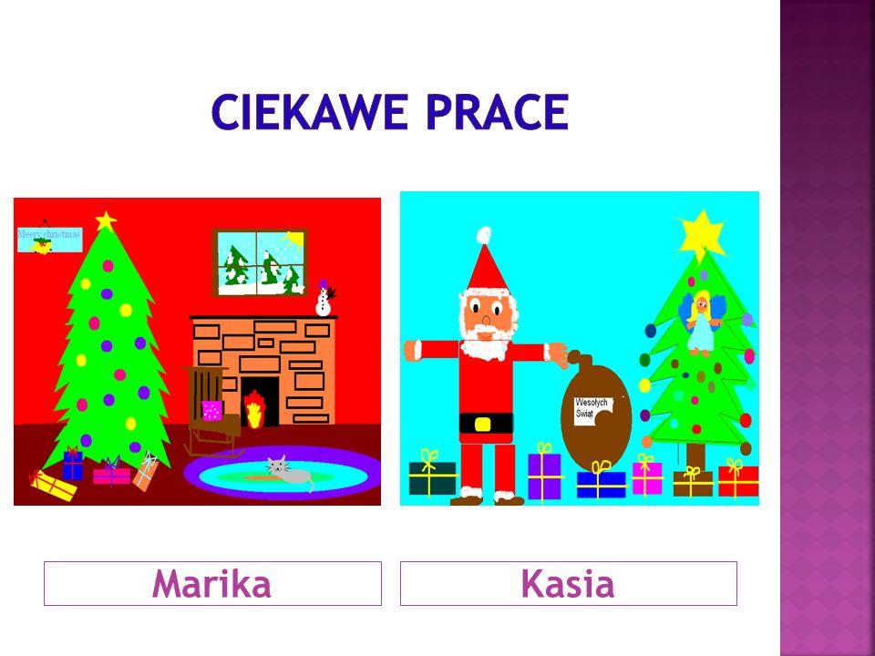 CIEKAWE PRACE Marika Kasia