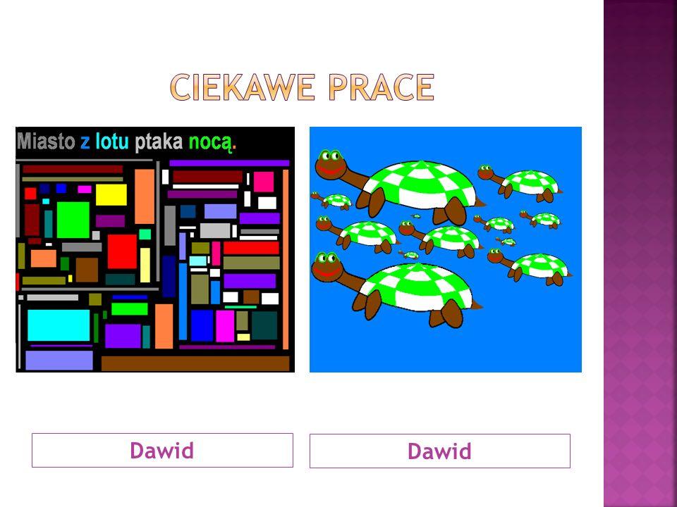 CIEKAWE PRACE Dawid Dawid