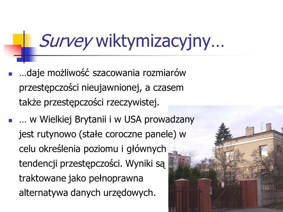 Survey wiktymizacyjny…