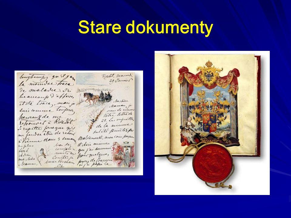 Stare dokumenty