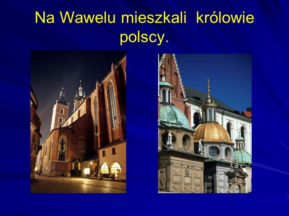 Na Wawelu mieszkali królowie polscy.