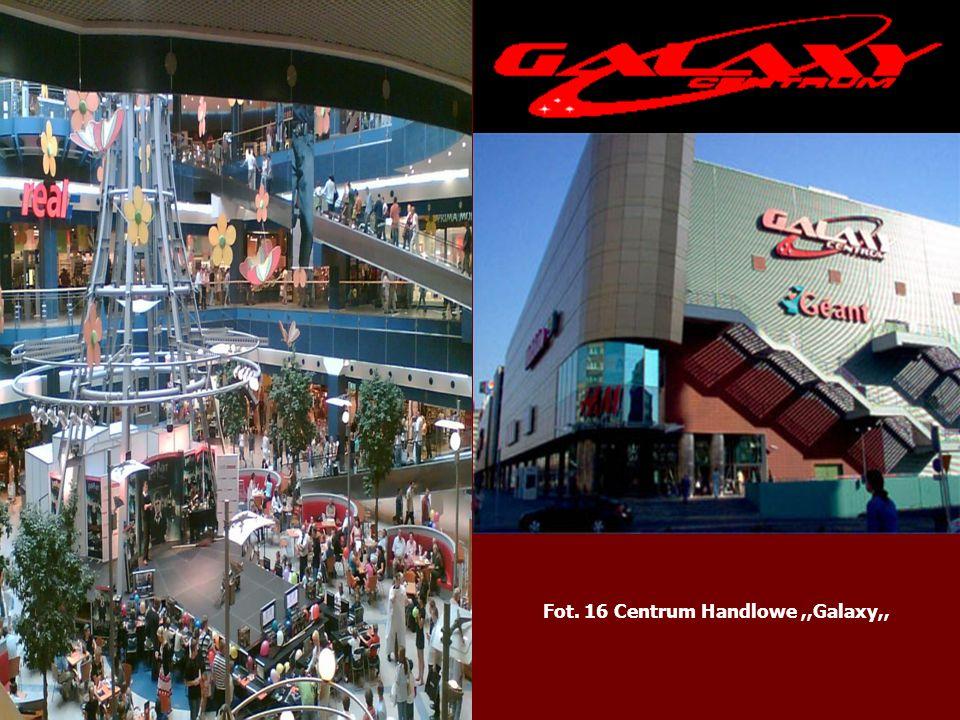 Fot. 16 Centrum Handlowe ,,Galaxy,,