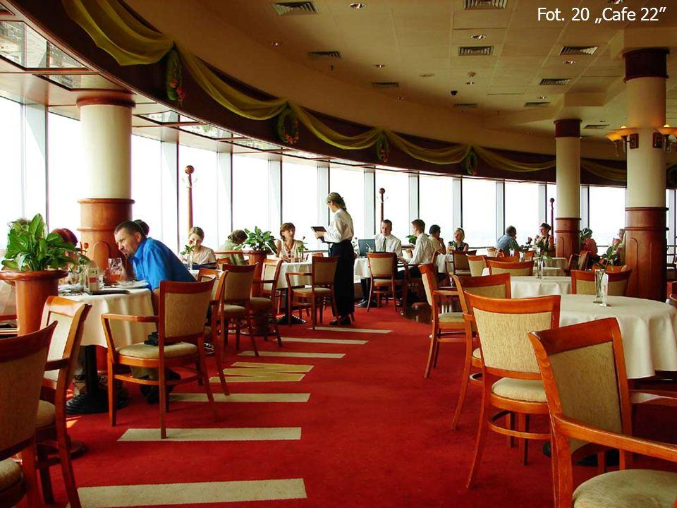 """Fot. 20 """"Cafe 22 Cafe 22"""