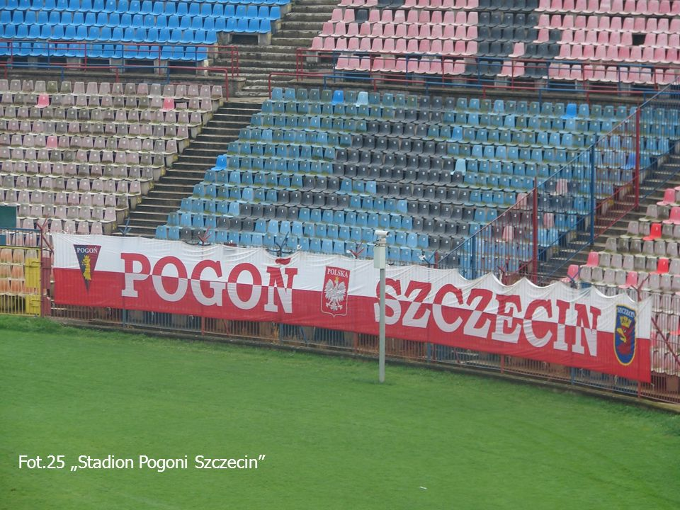 """Fot.25 """"Stadion Pogoni Szczecin"""