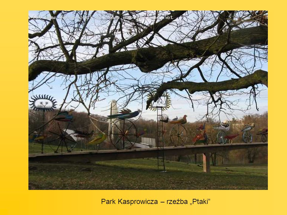 "Park Kasprowicza – rzeźba ""Ptaki"
