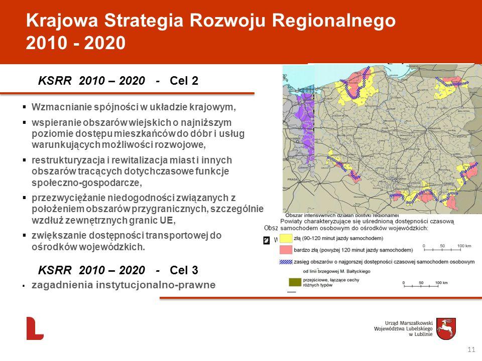 Krajowa Strategia Rozwoju Regionalnego 2010 - 2020