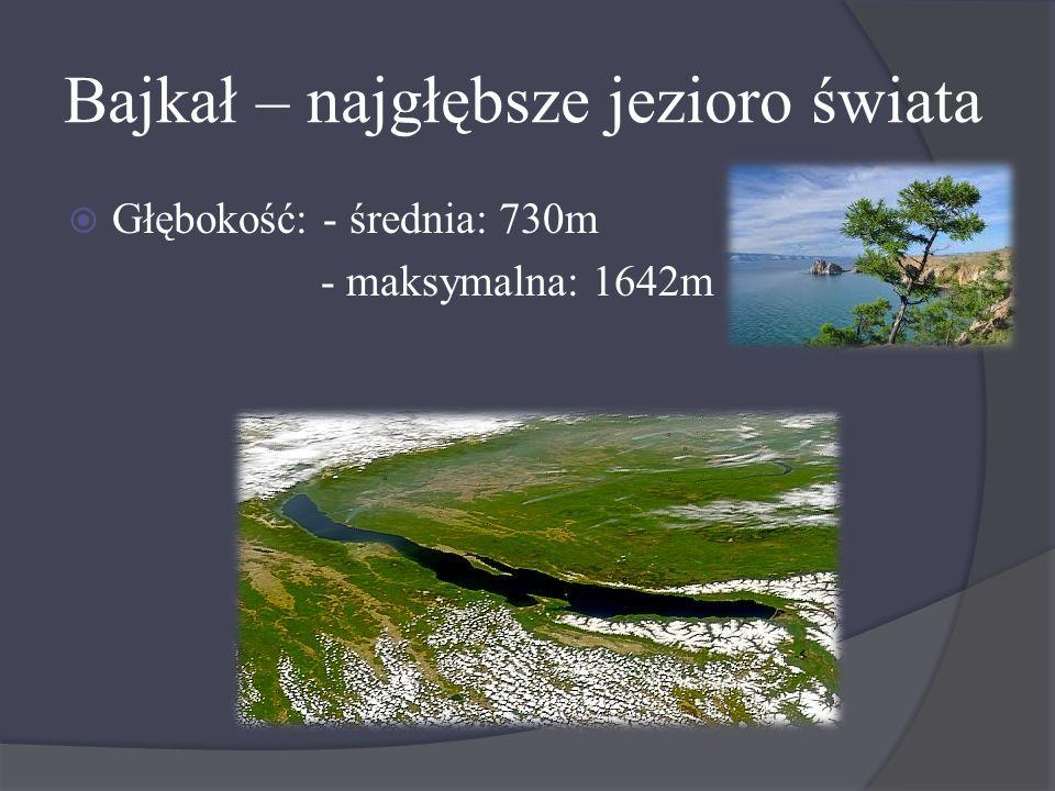 Bajkał – najgłębsze jezioro świata