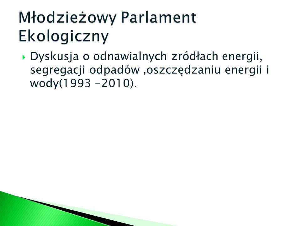 Młodzieżowy Parlament Ekologiczny