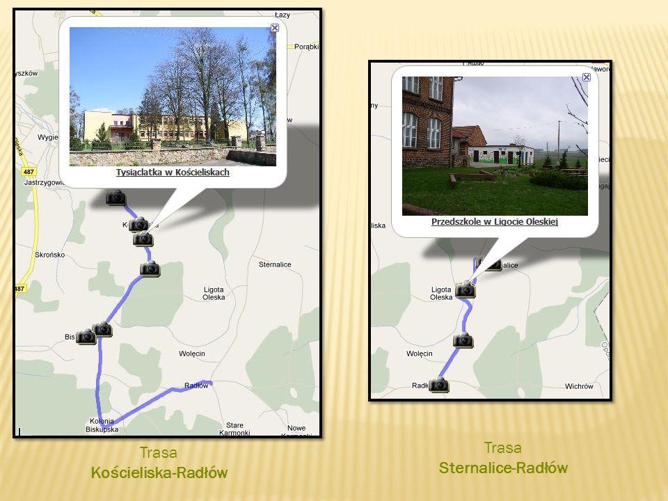 Trasa Sternalice-Radłów Trasa Kościeliska-Radłów