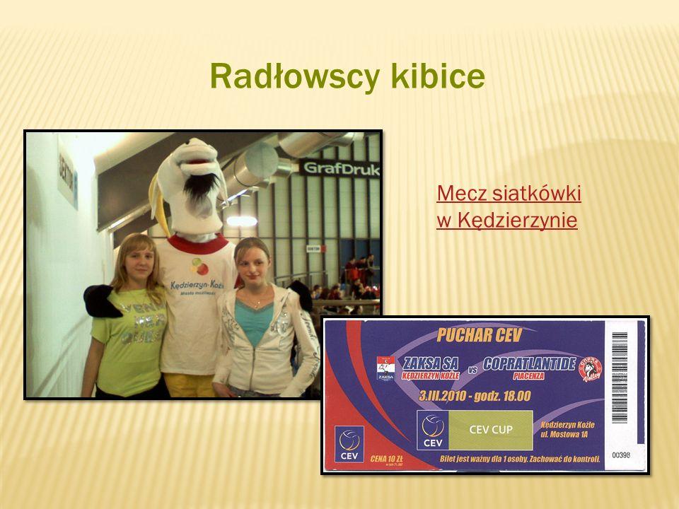 Radłowscy kibice Mecz siatkówki w Kędzierzynie