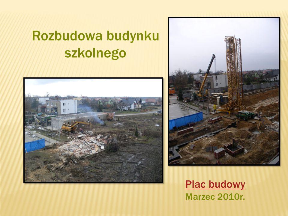 Rozbudowa budynku szkolnego