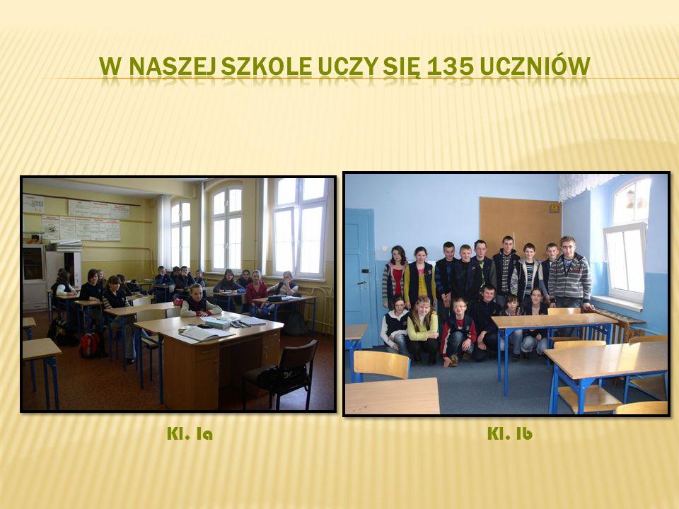 W naszej szkole uczy się 135 uczniów
