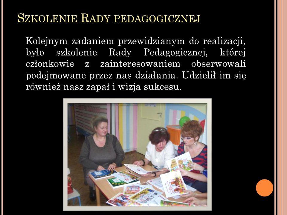 Szkolenie Rady pedagogicznej