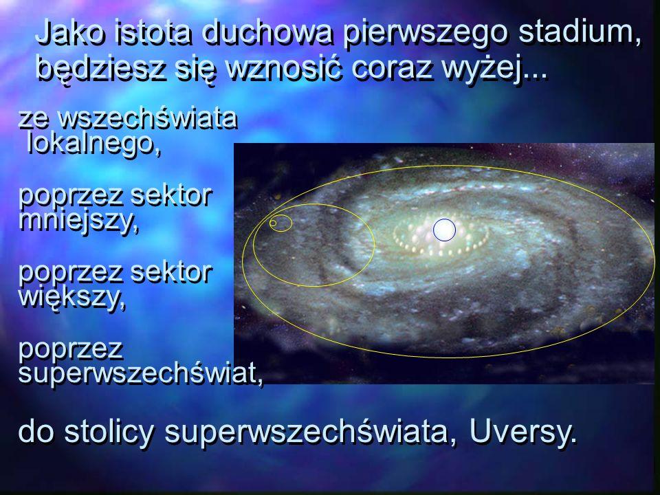 do stolicy superwszechświata, Uversy.