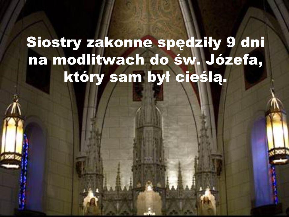Siostry zakonne spędziły 9 dni na modlitwach do św