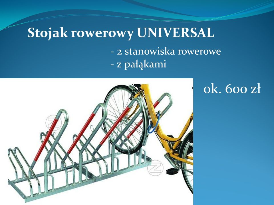 Stojak rowerowy UNIVERSAL