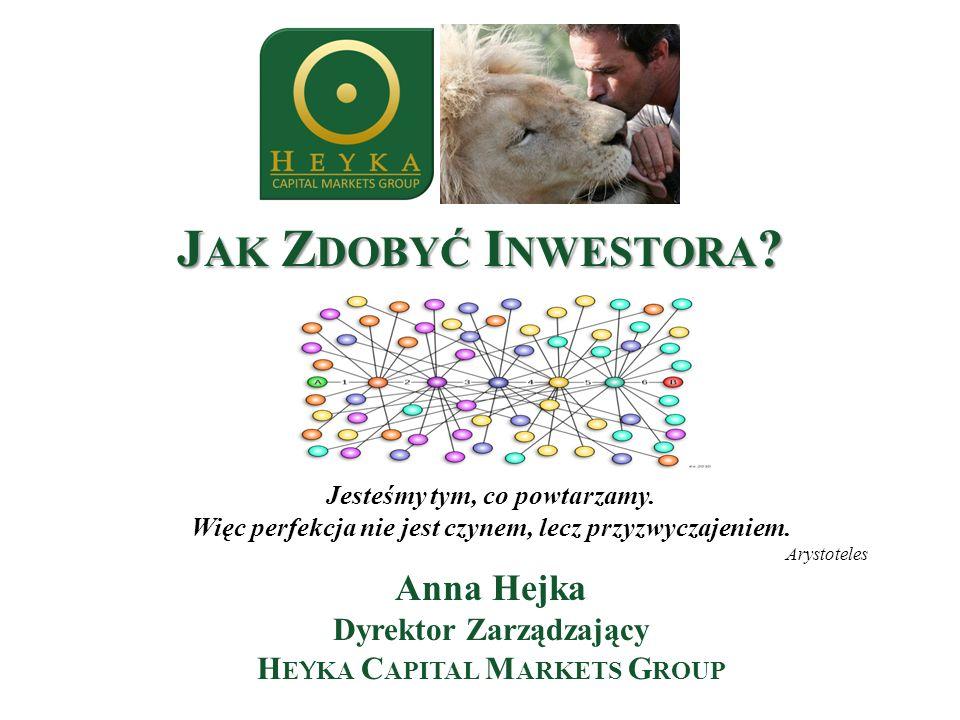 Jak Zdobyć Inwestora Jak Zdobyć Inwestora Anna Hejka