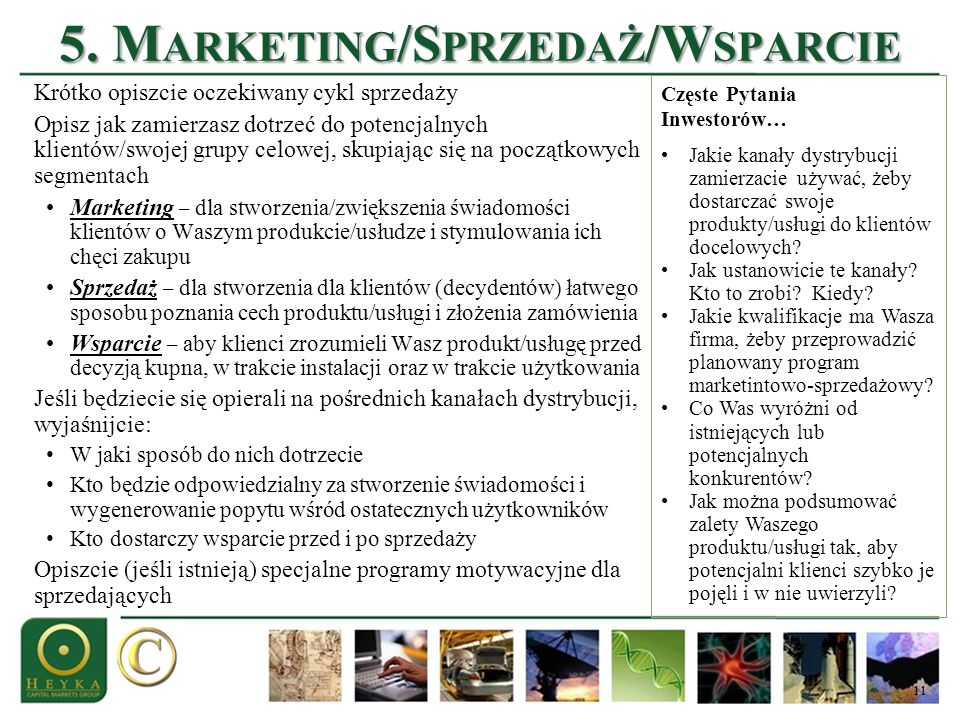 5. Marketing/Sprzedaż/Wsparcie