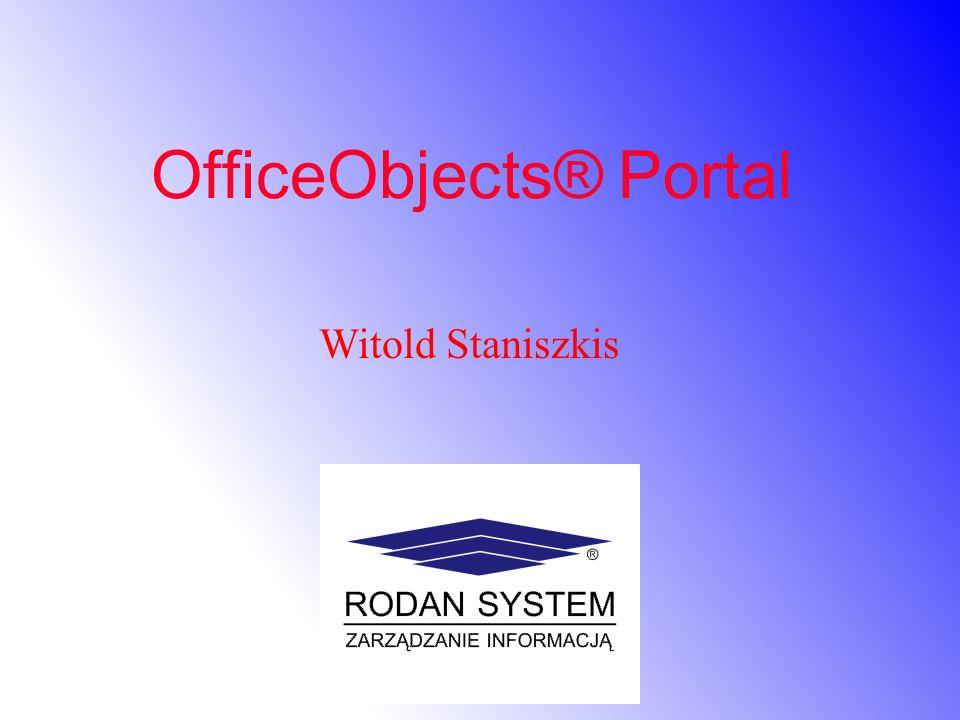 OfficeObjects® Portal