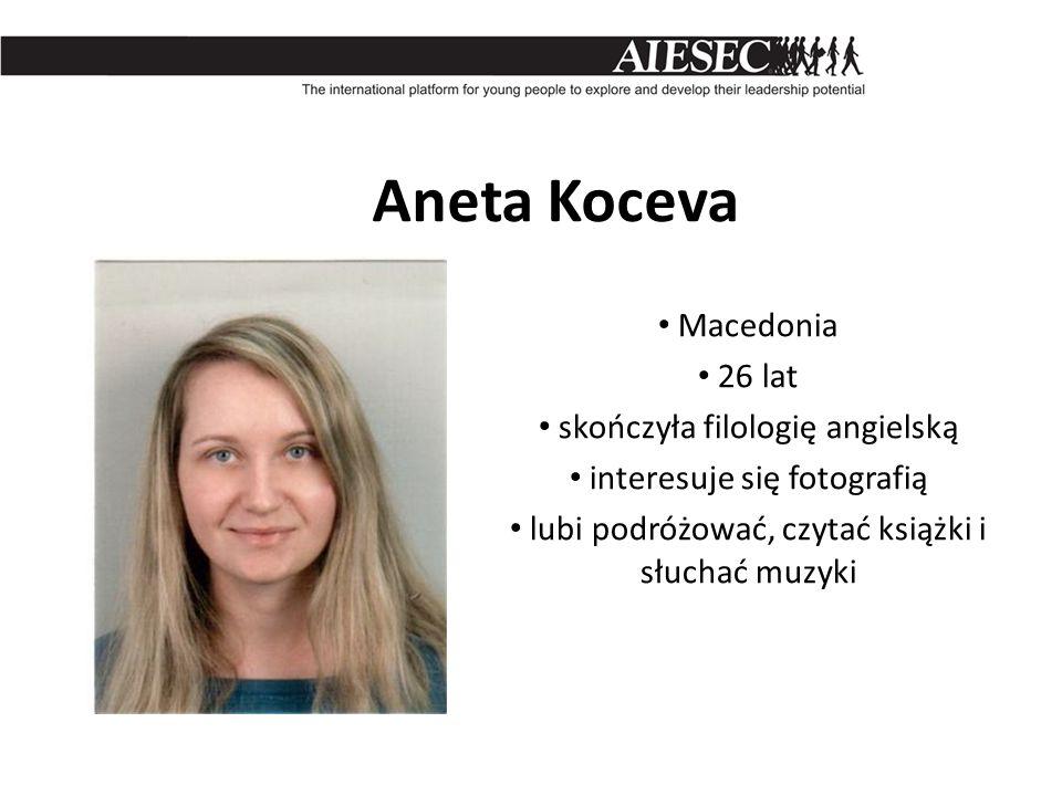 Aneta Koceva Macedonia 26 lat skończyła filologię angielską