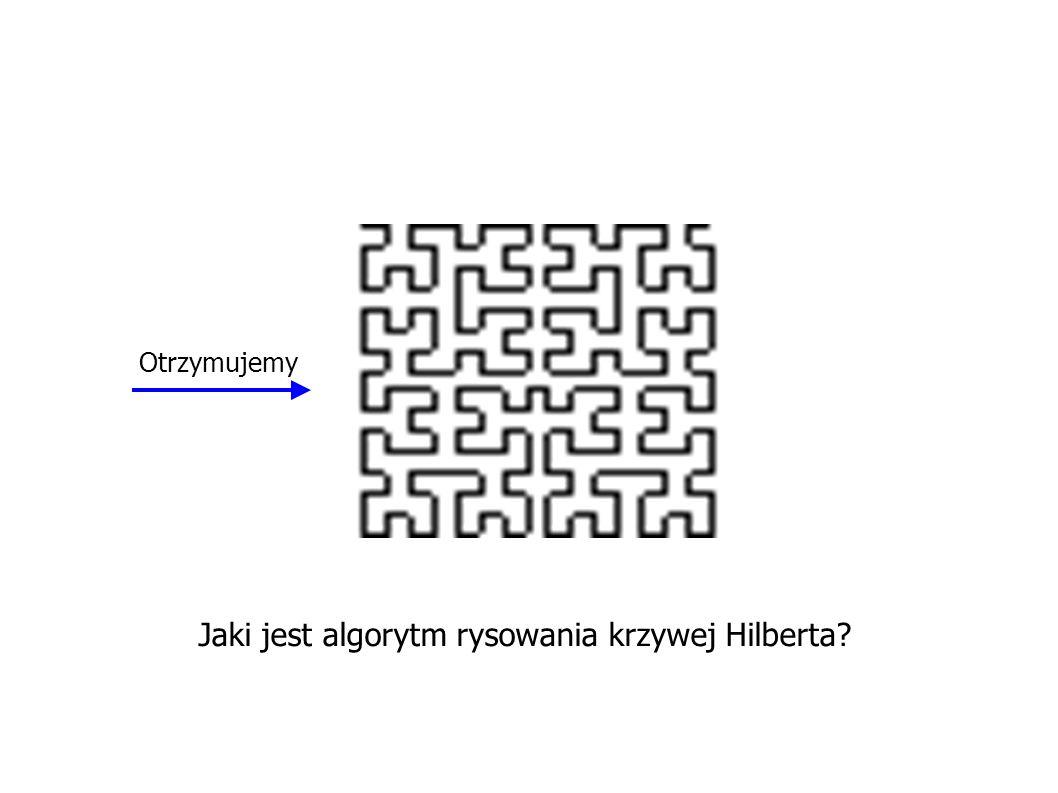 Jaki jest algorytm rysowania krzywej Hilberta