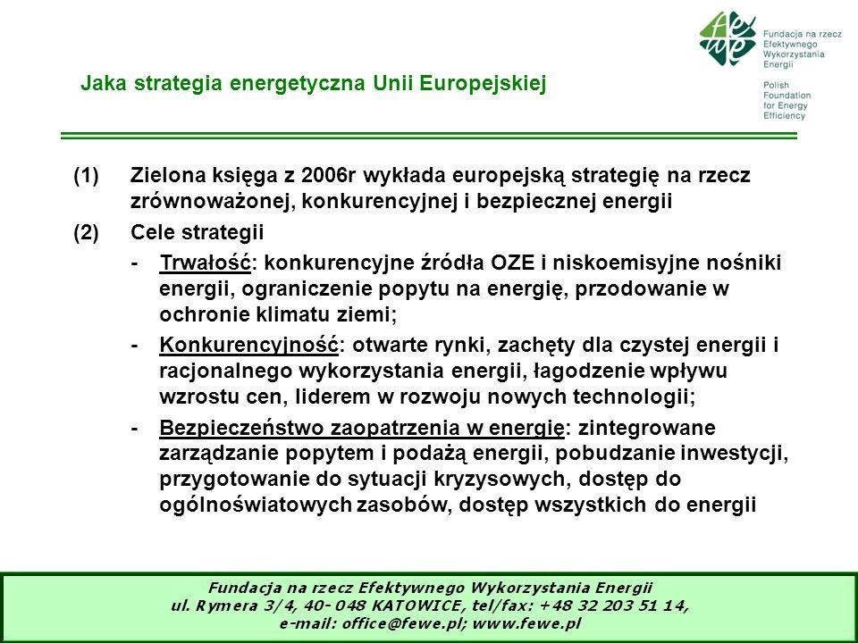 Jaka strategia energetyczna Unii Europejskiej