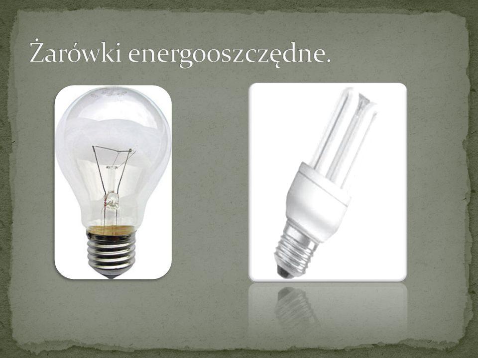 Żarówki energooszczędne.