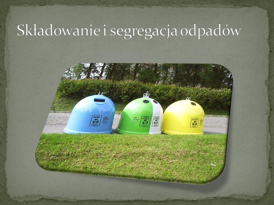 Składowanie i segregacja odpadów