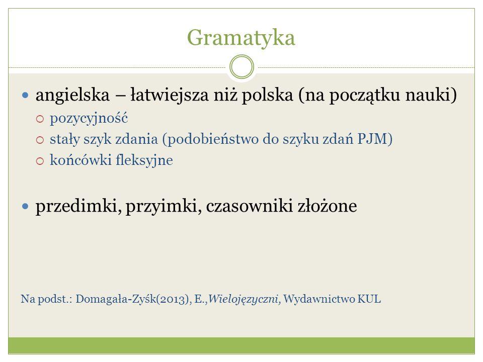 Gramatyka angielska – łatwiejsza niż polska (na początku nauki)