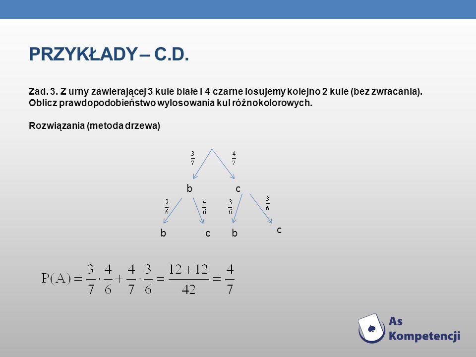 Przykłady – c.d.