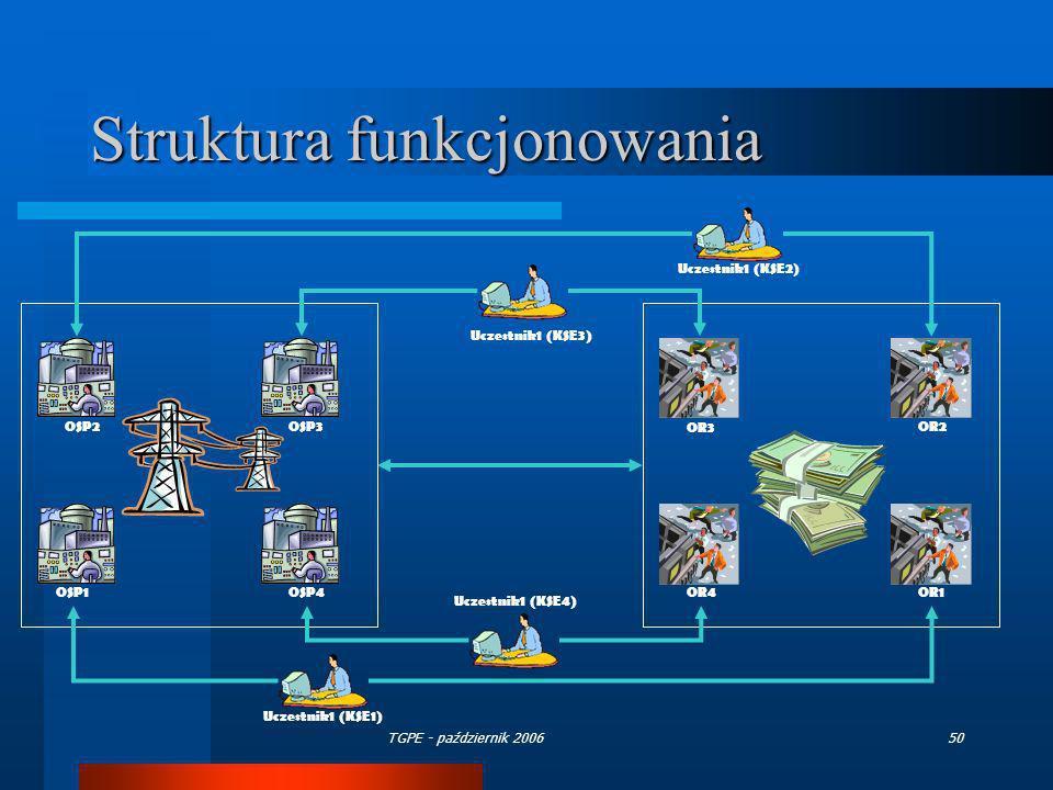 Struktura funkcjonowania