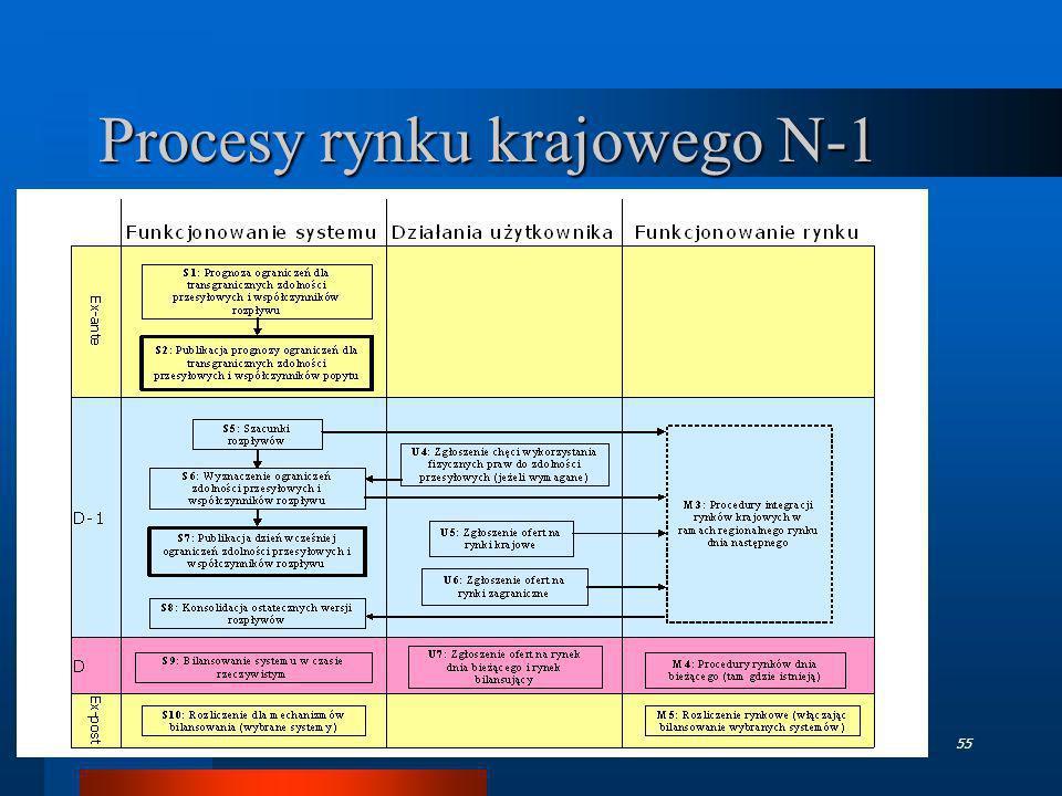 Procesy rynku krajowego N-1