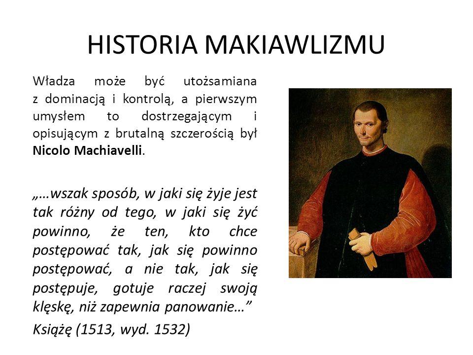 HISTORIA MAKIAWLIZMU