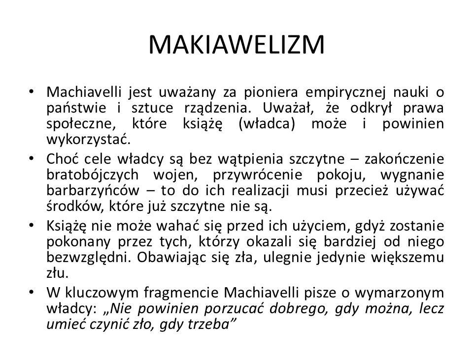 MAKIAWELIZM