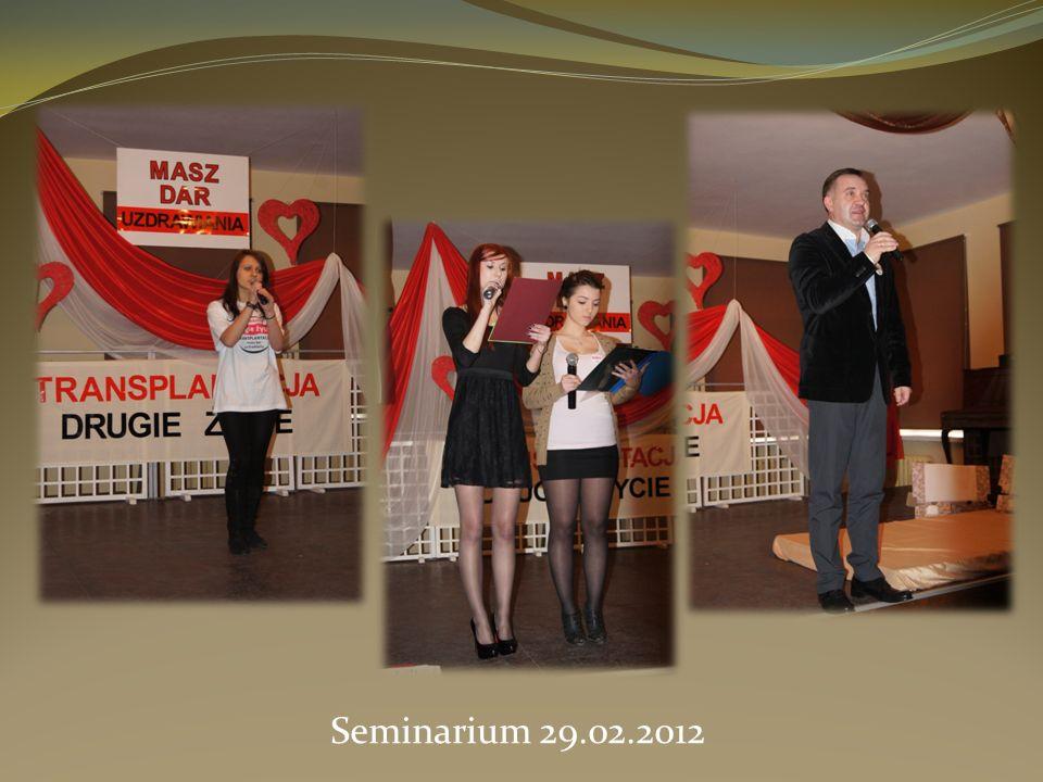 Seminarium 29.02.2012