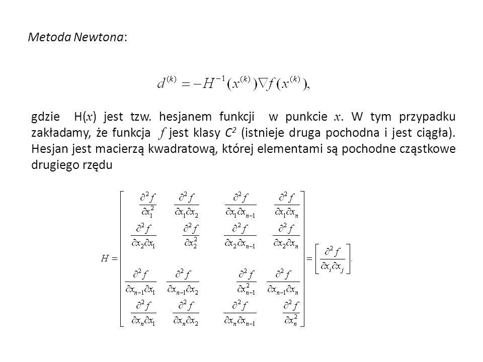 Metoda Newtona: