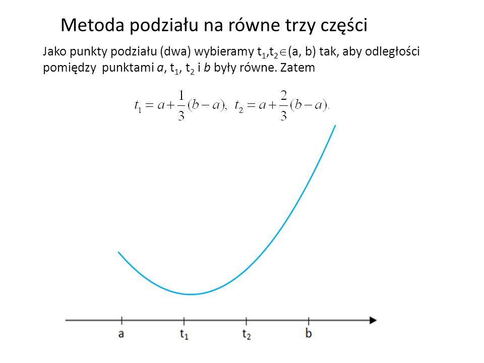 Metoda podziału na równe trzy części
