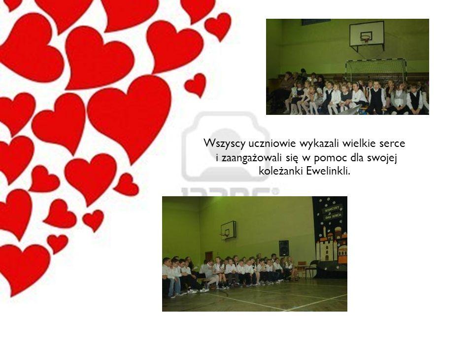 Wszyscy uczniowie wykazali wielkie serce