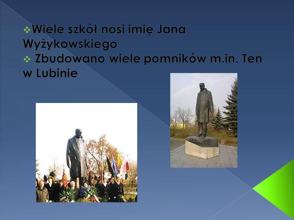 Wiele szkół nosi imię Jana Wyżykowskiego