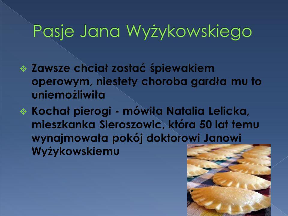 Pasje Jana Wyżykowskiego
